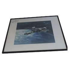 Signed Photograph Sky Lab Astronaut Joseph Kerwin Flight Surgeon to Senator Peter Dominick