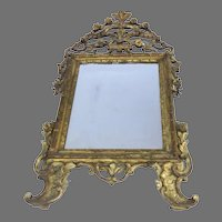 Early 19th Century Carved Gilt Italian Mirror