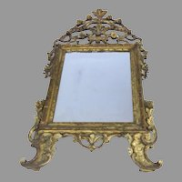 Early 19th Century Carved Gilt Italian Mirror
