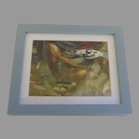 Signed Artist Proof Giclee Coy Fishes Framed by Colorado Artist Edwin Friedman