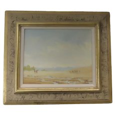 Painting of the Great Sands Dunes Signed
