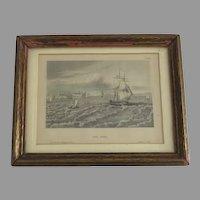 Framed Print 'Der Sund' by Eigenthum D. Verleger