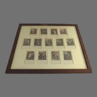 Cries of London Framed Miniatures Prints C.1880