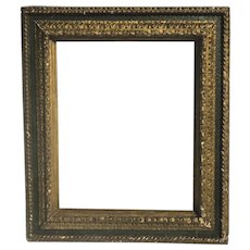 Early 19th Century Italian Robust Carved Gilt Frame