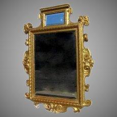 Fine Italian Carved Gilt Mirror 19th Century