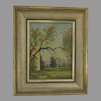 Oil on Board by William Langson Lathrop  (1859 - 1938) Signed