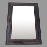 Dutch Style Faux Shell Finish Mirror 19th Century Non Directional