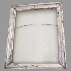 Charming Small Silver Gilt Frame 19th Century