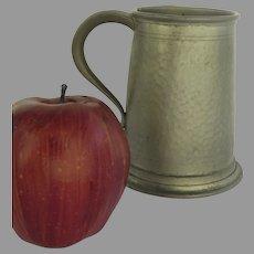 "Vintage Pewter Hammered Finish Tankard Mug ""My Lady"" ""Made in England"""