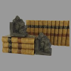 """Vintage Bookends """"Rubenesque Nude Women"""" were sculpted and signed by Eduardo Strauch in 1994"""