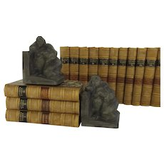 "Vintage Bookends ""Rubenesque Nude Women"" were sculpted and signed by Eduardo Strauch in 1994"