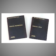 Set of Two Books from The Modern Reader's Bible