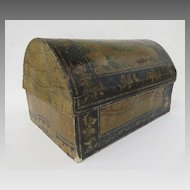Large Domed Wall Paper Box