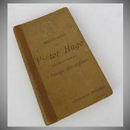 Victor Hugo Morceaux Choisis Librairie Ch. Delagrave