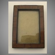 Small Crossbanded Rosewood Picture Frame