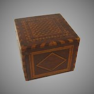 19th Century Parquetry Inlaid Box