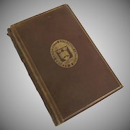 Leather Book Studies in Literature 1789-1877  by Edward Dowden, LLD