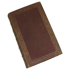 Poetical Works of Sir Walter Scott Edinburgh Adam and Charles Black 1869