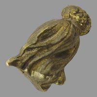 Bronze Brass Threaded Pull Finial