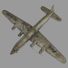 Vintage PanAm Pan Am Pressed Steel Metal Plane Model Marx
