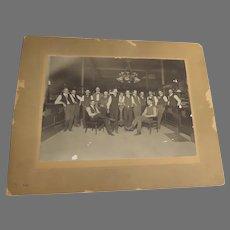 Real Photo First National Bank of Pueblo, Colorado 1901