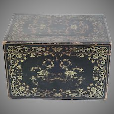 Early 19th Century Chinese Export Lacquer Box