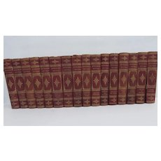 Set of 16 volumes of Muhlbach Novels