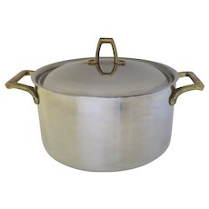 Vintage Stainless Paul Revere 1801 Signature Pan Pot Stock Sauce 3 Quarts