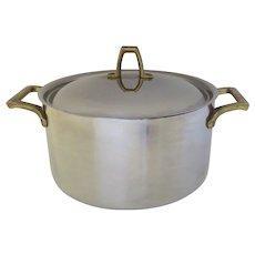 Vintage Stainless Paul Revere 1801 Signature Pan Pot Stock Sauce 3 Quarts