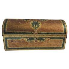 "Large Domed Box Florentine Italian Italy 11 1/2"" Long"