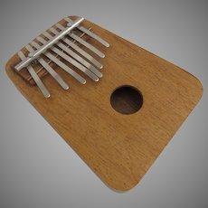 Vintage Kalimba Thumb Piano 8 Keys