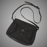 Vintage Patricia Nash Leather Tooled Purse Handbag Blackish Brown