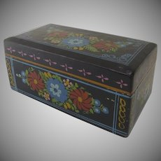 Vintage Painted Mexican Mexico Box