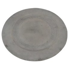 18th Century London Pewter Plate Touch Mark