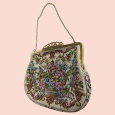 Vintage Petit Point Handbag Un-used