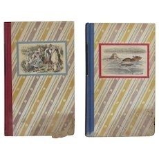 Alice's Adventures In Wonderland by Lewis Carroll and Through the Looking Glass 1946 Two Books