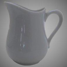 Vintage Apilco France French White Porcelain Creamer
