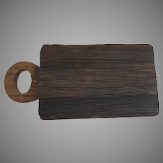 Vintage Europe2You Reclaimed Cutting Board County Kitchen Plateau Base