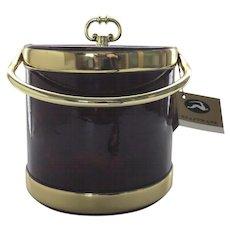 Vintage Un-use Kraftware Ice Bucket Tags Excellent