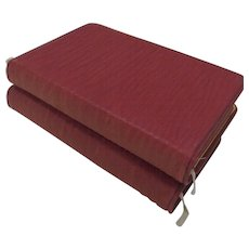 1905 Book of Common Prayer The Hymnal Red Leather by E. P. Dutton New York Pope Pius X