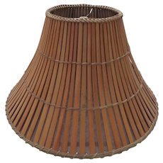 Handcrafted Bamboo Lamp Shade