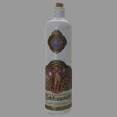 Vintage Stoneware Bottle German Beameister Label 1969