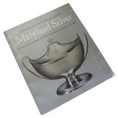 Vintage The Baltimore Museum of Art's Maryland Silver Catalog 1975