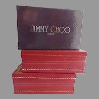 Vintage Boxes Jimmy Choo Rene Caovilla Empty Storage