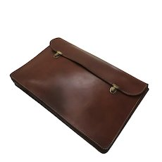 Vintage Hartman Leather Portfolio Briefcase Case