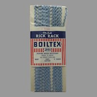 Vintage Baby Light Blue Rick Rack by Boiltex New in Package