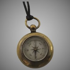 Queen Victoria Jubilee Watch Fob Compass