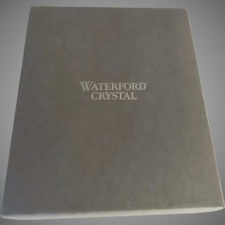Large Waterford Empty Box Storage Gift
