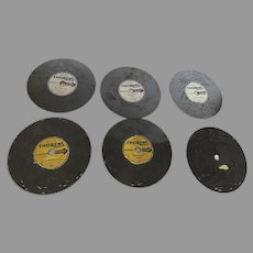 "6 x Thorens Music Box Discs (6"")"
