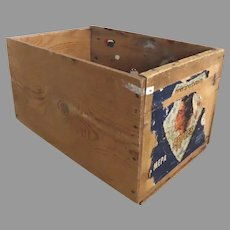 Vintage Apple Crate Box Wenoka Apples Standard Fruits Inc. Fruit Growers Rustic